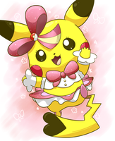 Pop Star Pikachu by aquabluu