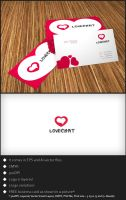Free Logo Template - Love Chat by genotas