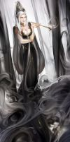 Lady of smoke by JaneMere