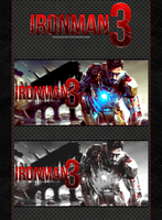 Ironman III - Tiny tag wall by TifaxLockhart
