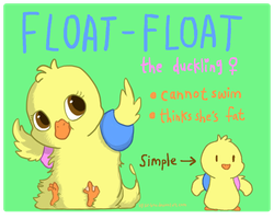 Auction: float-float the duckling (ENDED) by sir-boo