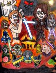 Star Wars III: Revenge of the Sith by SonicClone