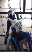 Time is passing (Dialga Cosplay) by Cita-la-Star
