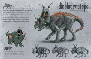 Diabloceratops by LizMasters