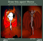 Draw this again meme by CandyGearz