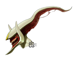 Poke-Project - Arceus by manic-in-tricolour