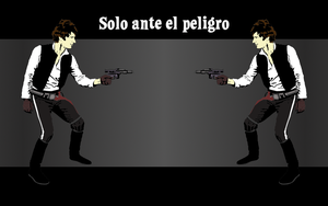 Han Solo wallpaper 1440x900 by Pasteljam