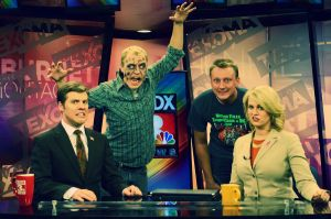 Zombie Invades the News by SublimeBudd