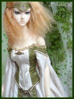 Jeline - green medieval by Lelahel-Clothes