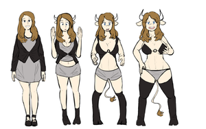 Cowgirl Transformation by Master-TF