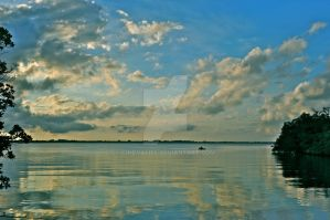 Indian River Reflections by CindyAliff