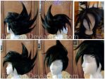 Chazz Princeton Wig Commission by JiiDragon