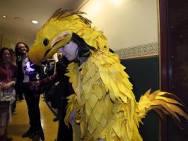 Odin the Chocobo 7 by ggeudraco