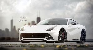 F12 Berlinetta by jackdarton