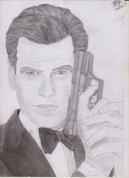 James Bond (Pierce Brosnan) by SanitarGKB4