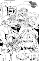 He-Man And The MOTU by NathanKroll