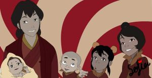 tenzin's family by princessxsofia