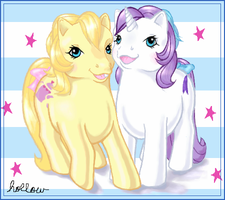 Baby Crumpet and Baby Glory by hollowzero
