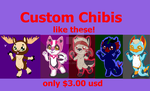 chibi sale 3 bucks! by Drasonic