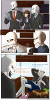 SecuriTale: Life at the Skeleton Household 04 by tekitourabbit