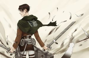 AoT Levi Wing by Lilbang