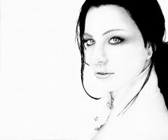 Amy Lee drawing by angelhitsground