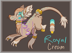 Royal Cream~ Custom Sumu-ri by SophieSuffocate