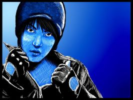 Blue JaeJoong by ChinSung