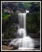 Cowshed Falls 1 by ambermac148