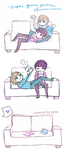 Gaming as a Couple by Cyarin