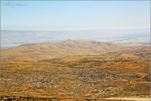 View to the Jordan valley by ShlomitMessica