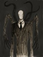 Baby's First Slenderman Drawing by LinmirianJoyrex