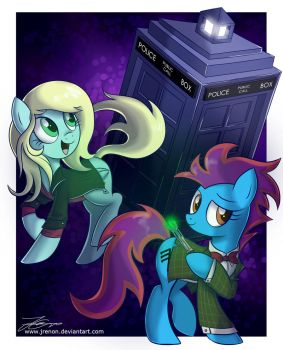 The Doctor/Acousticbrony and Clara/Emily Jones by Jrenon