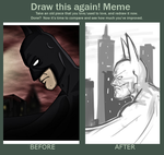 Draw This Again Meme by leadhooves