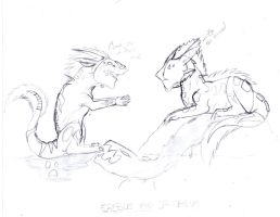 ~WIP~ Erebus and Orpheus by Asenath-Nightroad