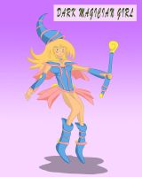 Dark Magician Girl by Louisetheanimator