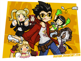 No More Heroes Funtime Battle by desfunk
