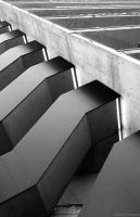 Abstract Stairs by zuckerblau