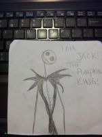 I AM JACK THE PUMPKIN KING by kimmyragefire
