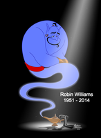 Robin Williams 1951-2014 Tribute by ColorfulArtist86