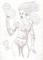 GL Wonder Girl by LukeSpidey