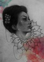 Women and Watercolours. II by cameron-18