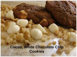 Cocoa White Chip Cookies by kat1967