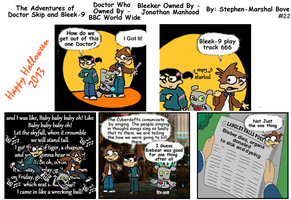 The Adventures of Doctor Skip Strip 22 by GreedLin