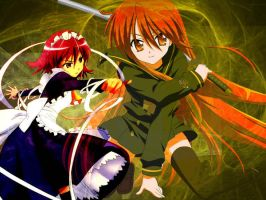 shakugan no shana by scillia