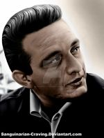 Johnny Cash Colour by Sanguinarian-Craving