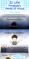 SJ Life: Donghae's Hands of Minus by Lanaleiss