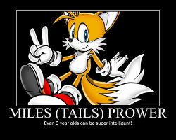 Tails Motivational Poster by LukeTheeMewtwo