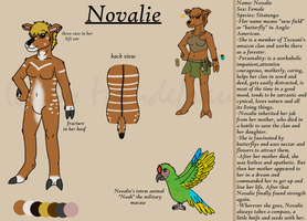 Ref sheet Novalie by hundefrau