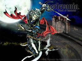 castlevania curse of darkness by landrick1711